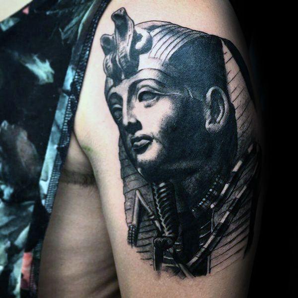 60 King Tut Tattoo Designs For Men Egyptian Ink Ideas King Tut Tattoo Tattoo Designs Men Tattoo Designs