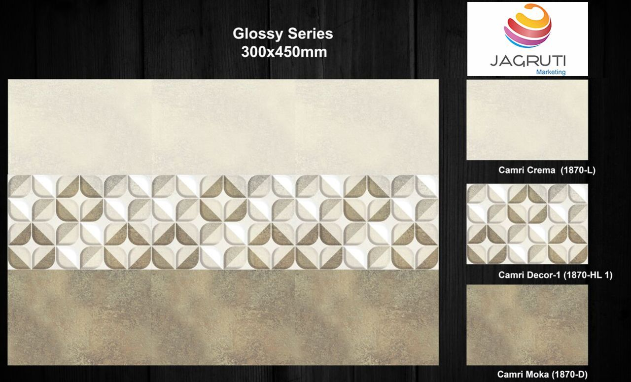 For More Info Visit Our Website Www Jagrutimarketing Com Or Call To Us On 91 97129 65714 12x18 Digital Glazed Wall Wall Tiles Design Room Tiles Wall Tiles
