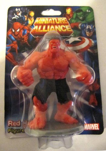 Red Hulk Marvel Miniature Alliance Figure Toy Cake Topper or