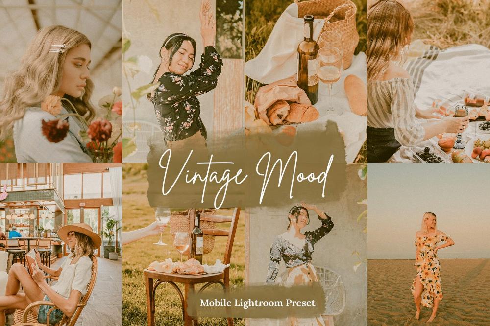 5 Vintage Lightroom Mobile And Desktop Presets Dng Mobile Etsy In 2020 Lightroom Presets Lightroom Film Presets Lightroom