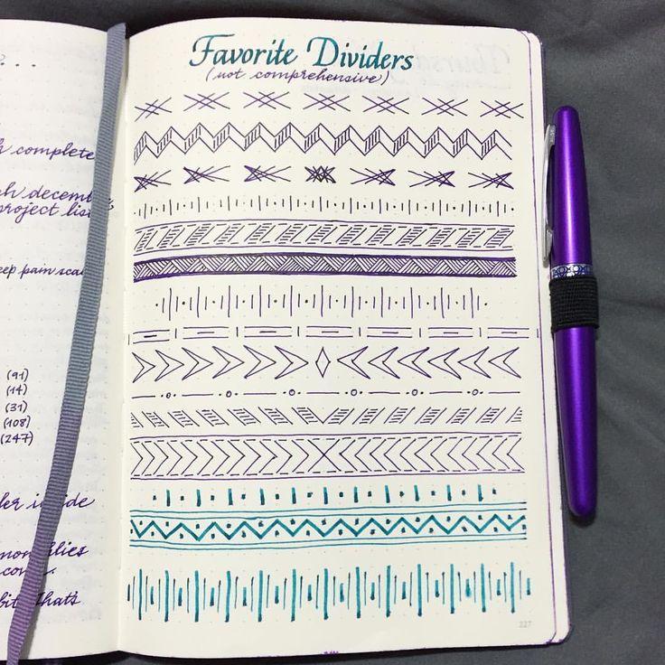 Resultado de imagen de como hacer bordes para cuadernos | homework ...