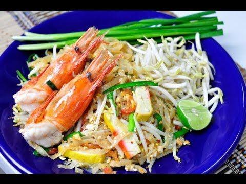 Thai food phad thai goong sod stir fried narrow rice noodle with thai food phad thai goong sod stir fried narrow rice noodle with prawn forumfinder Images