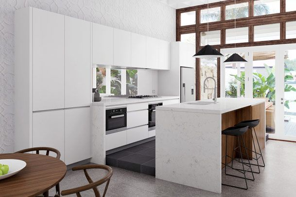 Paddington terrace renovation sydney kitchen google for Terrace kitchen ideas