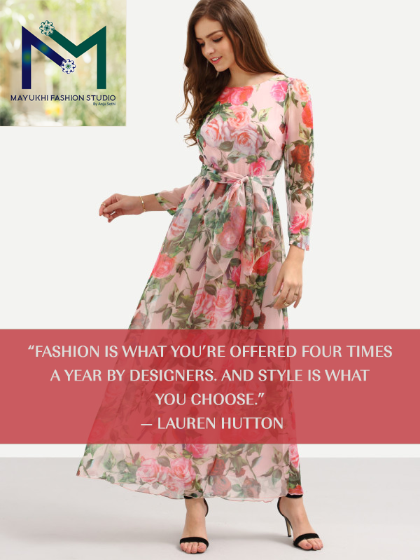 Fashion Is What You Re Offered Four Times A Year By Designers Style What You Choose Fashion Fashion Quotes Fashion Design