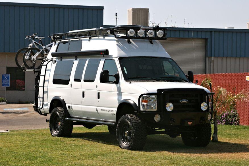Ford Van Roof Rack Voyager Style Camping Van Pinterest