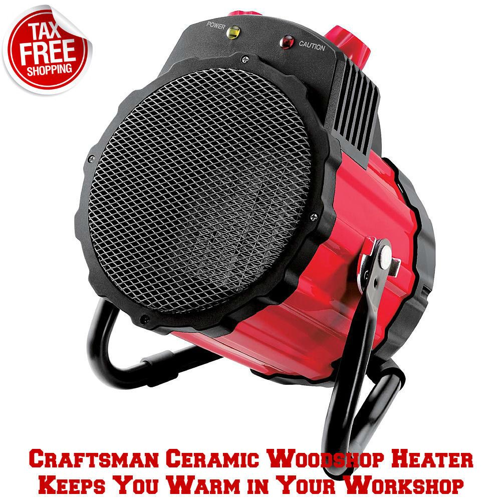 Craftsman Electric Ceramic Heater Portable Garage