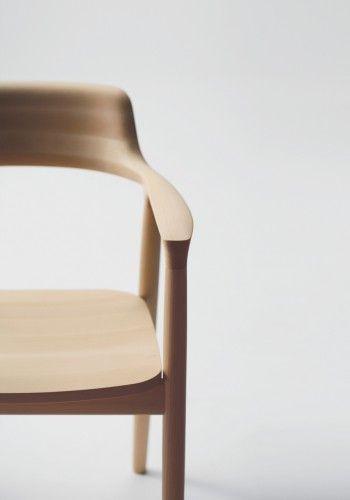 Arm chair Low (Wooden seat) Hiroshima Naoto Fukasawa