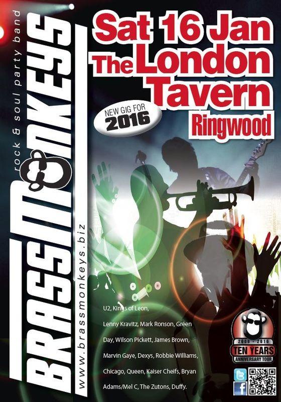 PictuBrassMonkeys Live at The London Tavern Sat 16 Jan 2016re