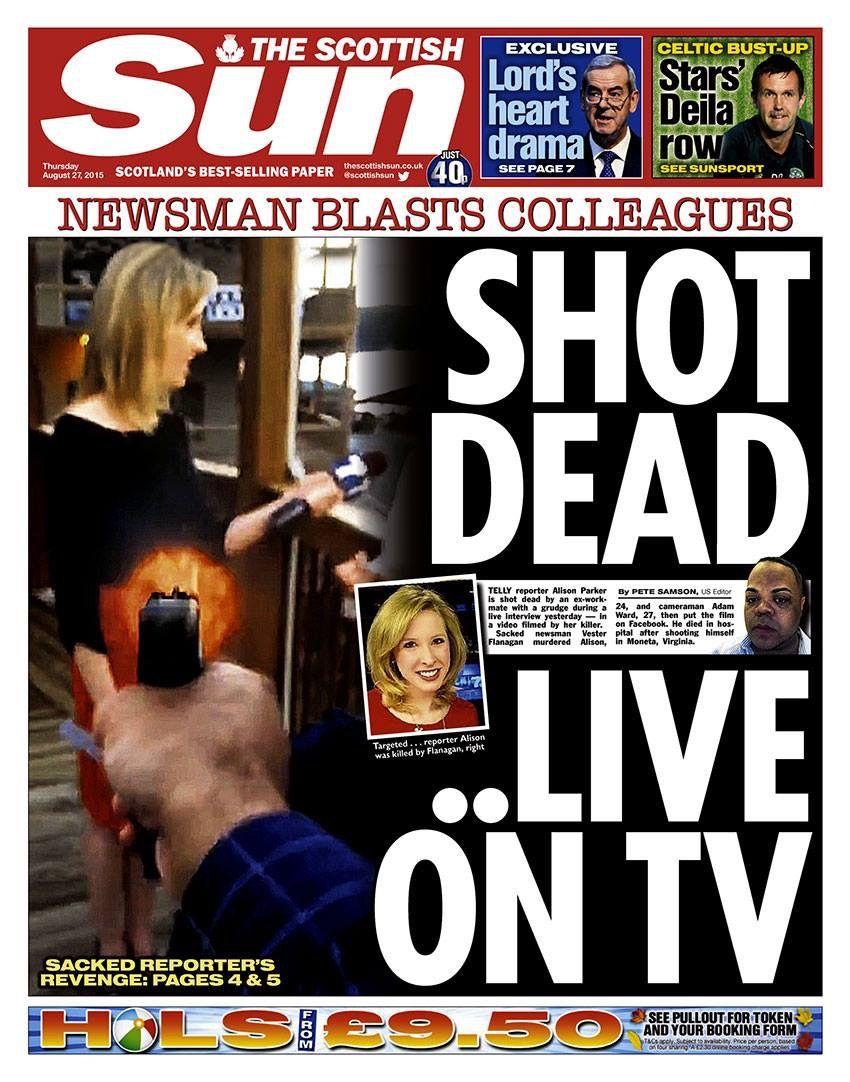 American journalists shot dead - video