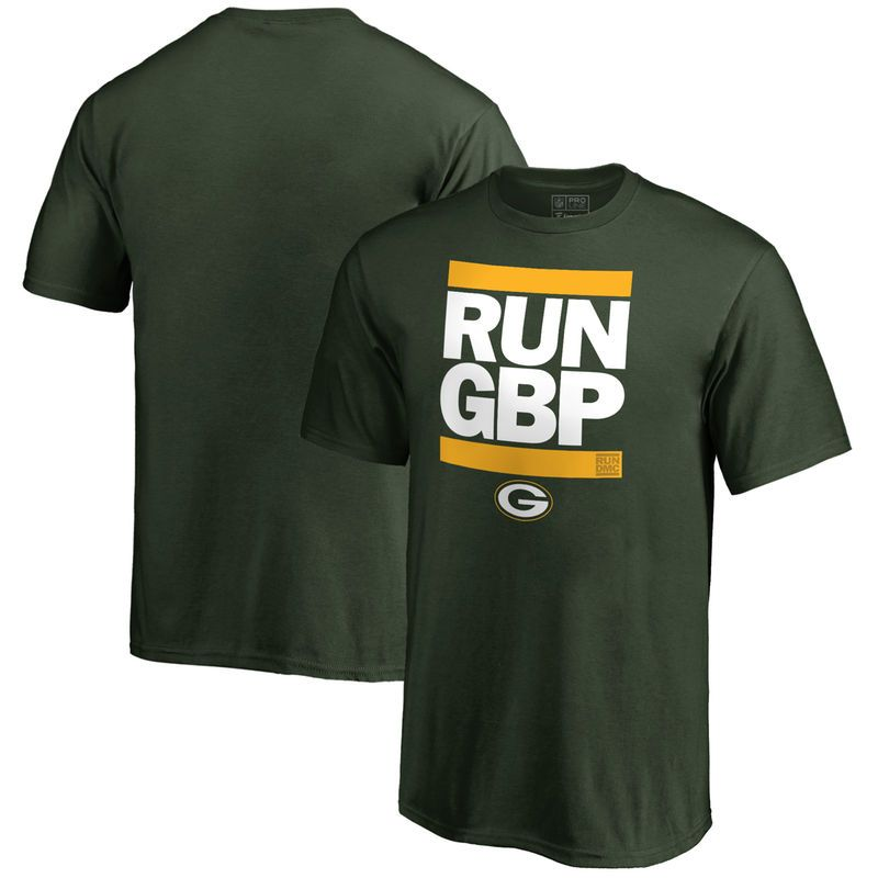 Green Bay Packers NFL Pro Line Youth RUN-CTY T-Shirt - Green ... abd7b57f0