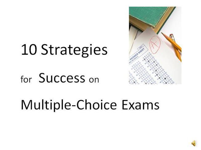 multiple choice test taking strategies by billinga via authorSTREAM
