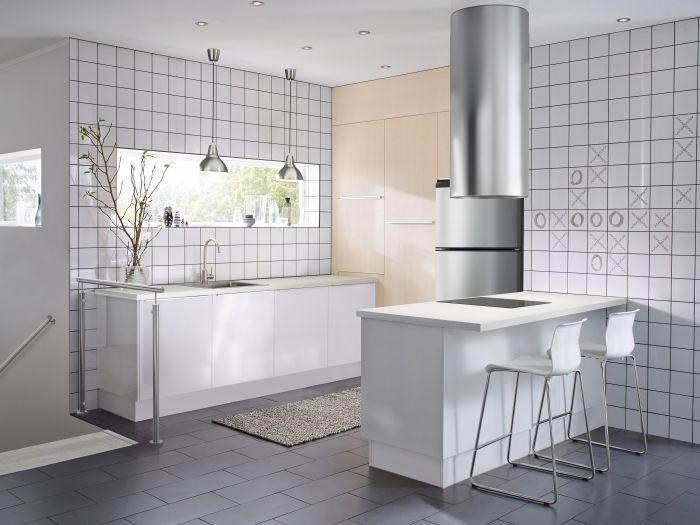 Ikea Method Keuken : Metod keuken ikea metod keuken wit ontbijtbar keukens