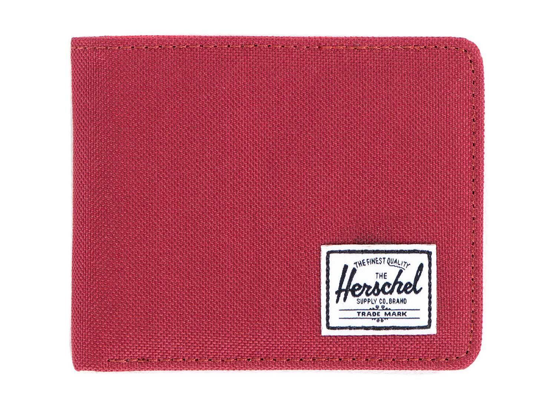 Herschel Supply Co. 'Roy' Burgundy / Red Bi-Fold Card Wallet   Pure Luxuries
