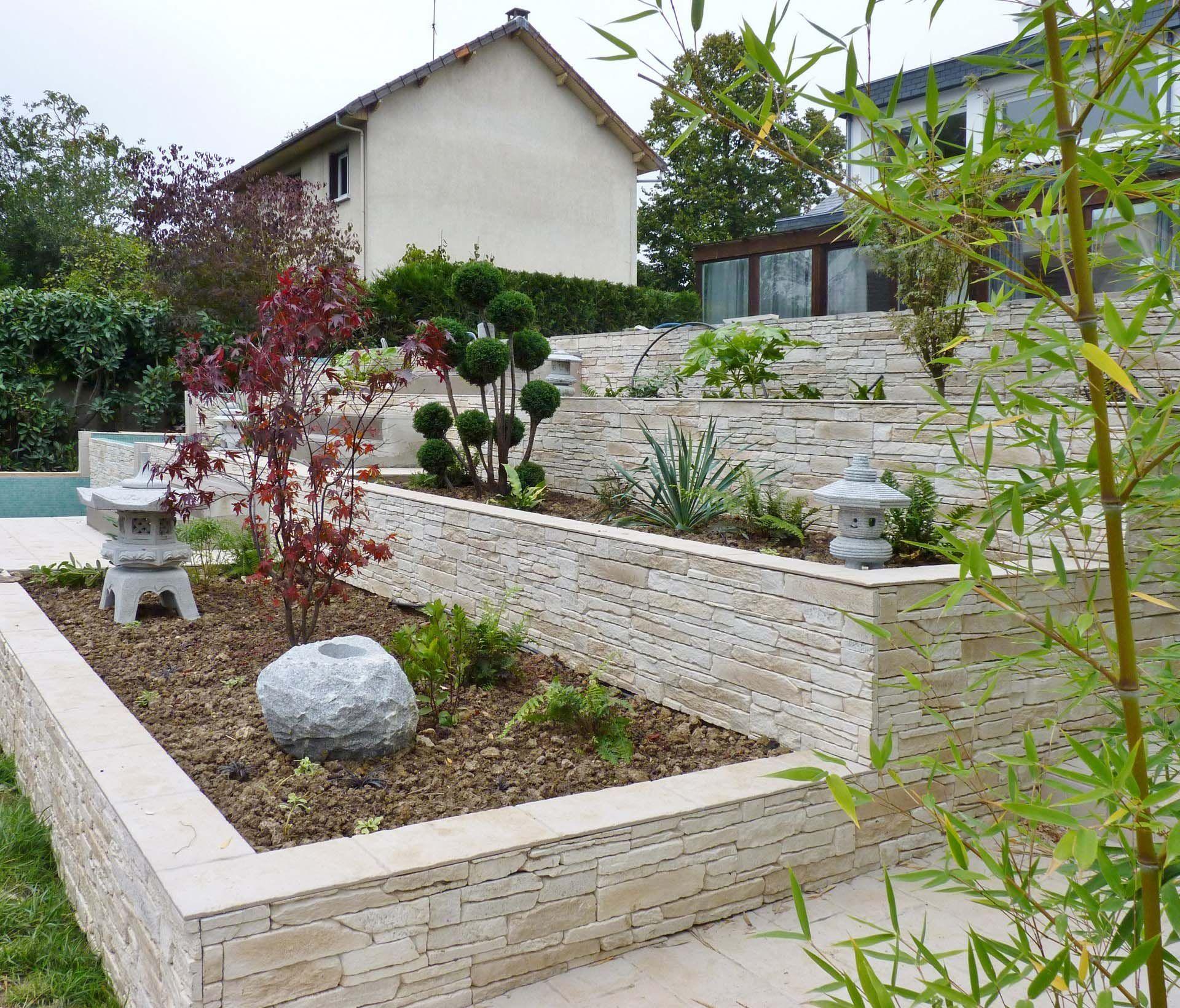 maison renovation luxe amenagement paysage jardin escalier ...