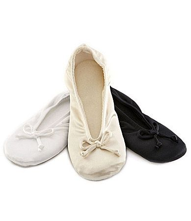 Isotoner Classic Ballerina Slippers #Dillards | fashion i ...