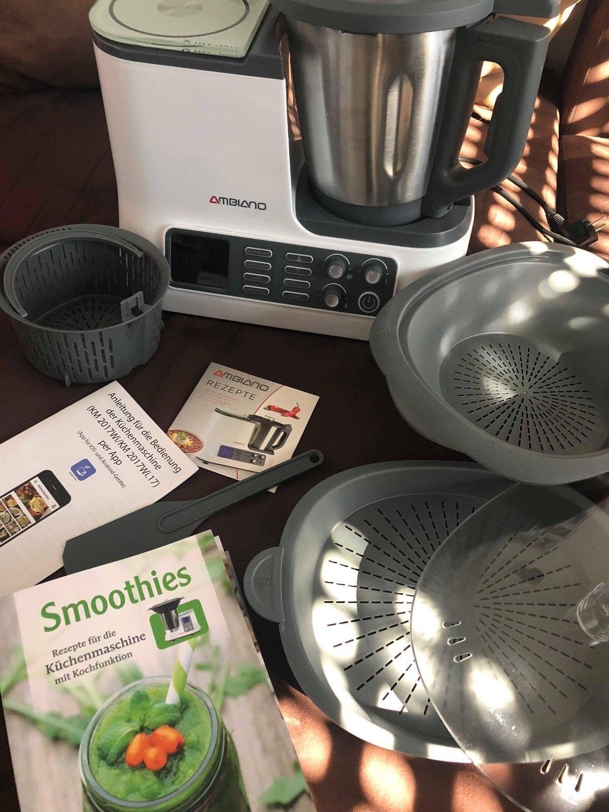 Ambiano Kuchenmaschine Mit Kochfunktion Und Wlan Funktion Von Aldi