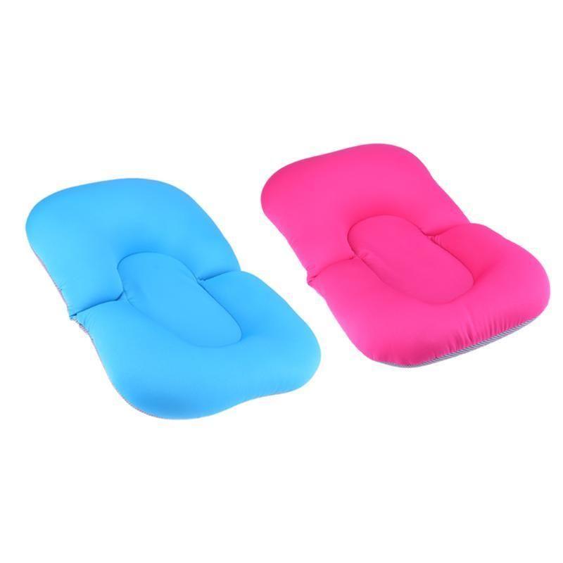 Baby Bath Tub Foldable Float Bath Mat Seat Antiskid Blooming Bathing ...