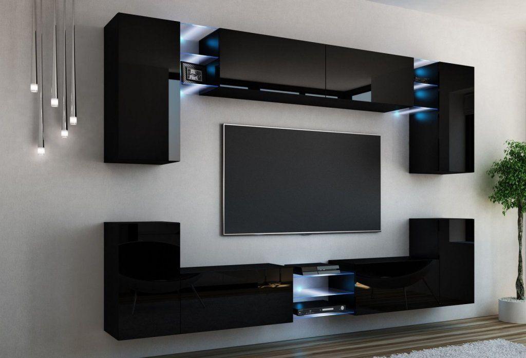 Top 50 Modern TV Stand Design Ideas For 2020 - Eng