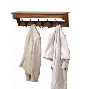 Amazon Sonoma Coat Rack 40HOOK HARWICK OAK Home Kitchen 40 Stunning Sonoma Coat Rack