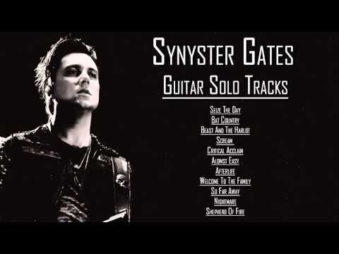 Synyster Gates All Multitrack Guitar Solos Youtube Guitar