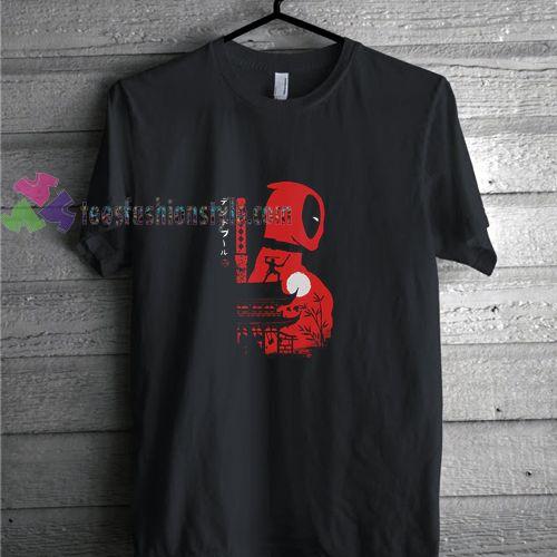 Deadpool Japannes t shirt gift tees unisex adult cool tee shirts ...