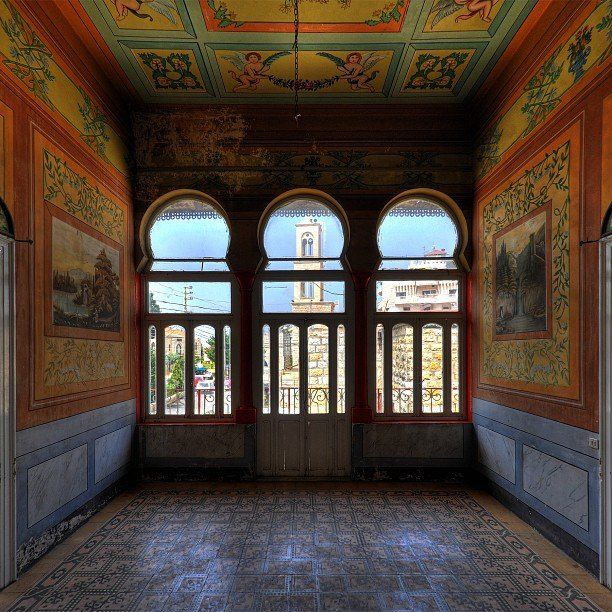 Beautiful old painted interior lebanon also take me away to pinterest rh