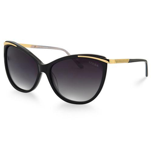 Óculos de Sol Gatinho Feminino Acetato Marrom   Óculos   Sunglasses ... f060669061