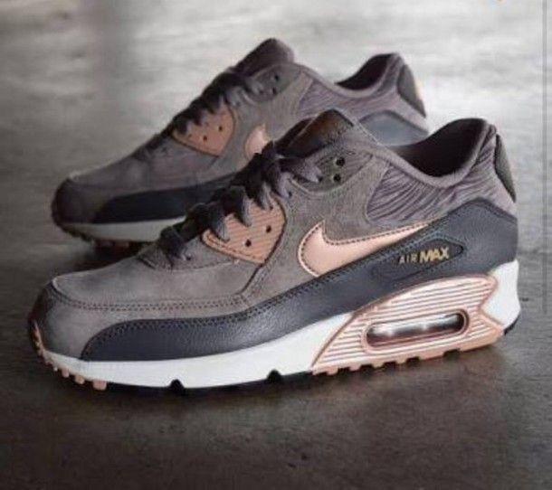 Zapatos: Zapatos: Zapatos: nike air max 90 Ante sneakers nike Gris Gris sneakers: I 7227ca