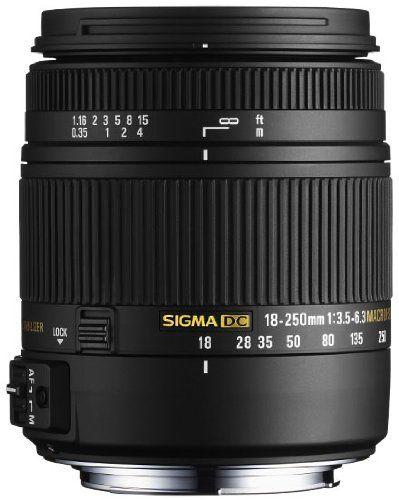 Sigma 18 250mm F3 5 6 3 Dc Macro Os Hsm For Nikon Digital Slr Cameras Http Www Lookatcamera C Canon Digital Slr Camera Nikon Digital Slr Digital Camera Lens