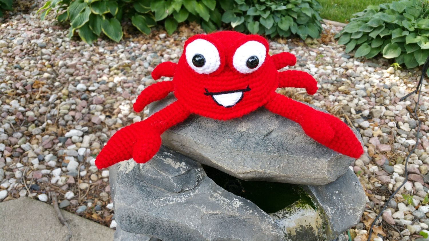 PDF PATTERN for Amigurumi Chester the Crab by JensNeedleKnows on Etsy
