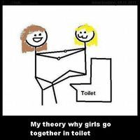 Images Of The Day 70 Images Why Girls Travel In Pairs To The Bathroom Funny P Funny Funny Pictures
