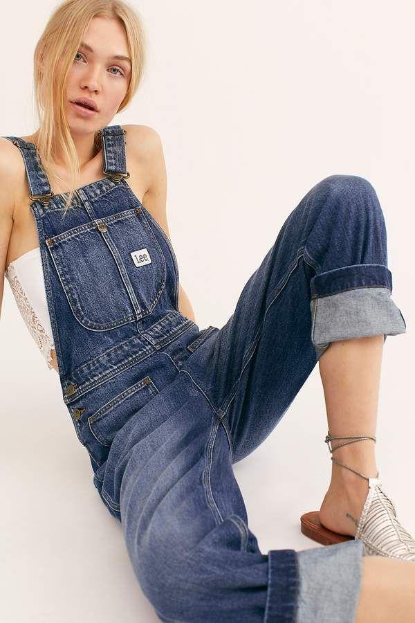 d5b1c34e Lee Straight-Leg Overalls Trouser Jeans, Denim Overalls, Dungarees,  Trousers, Back