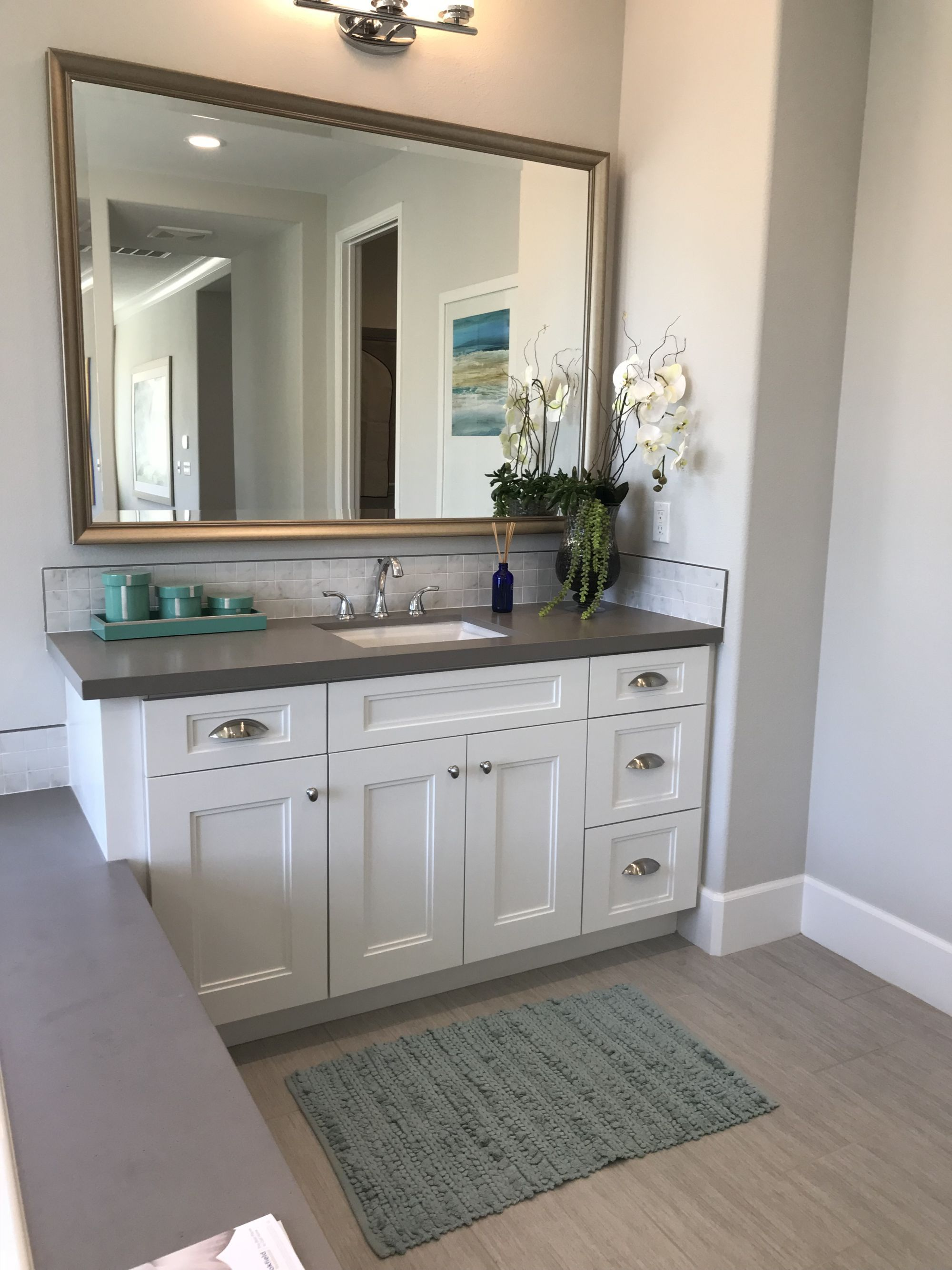 Bathroom Remodel Ideas Pic Taken From Model Home Walk Thru White