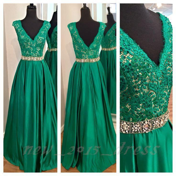 Resultado De Imagen Para Modelos De Vestidos Color Verde