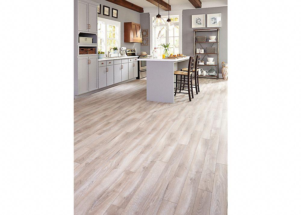 Dream Home Nirvana Plus 10mm Pad Delaware Bay Driftwood Grey Laminate Flooring Wood Floor Kitchen Wood Laminate Flooring