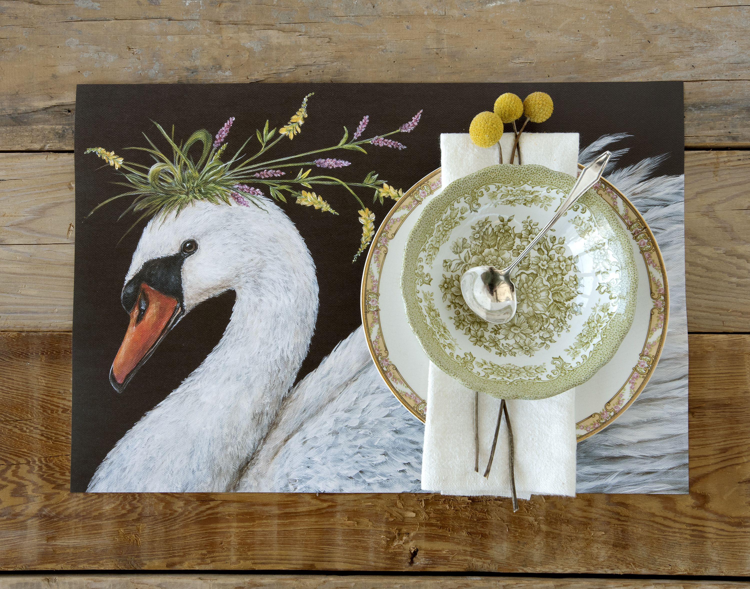 Cadence Paper Placemat From Hesteru0026Cook Design Group. It Gives Your Table  Setting An Equal Dose