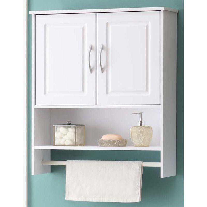 White 2 Door Wall Cabinet 1000 In 2020 Bathroom Wall Storage Bathroom Wall Storage Cabinets Wall Storage Cabinets