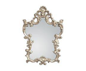 Specchio da parete in poliuretano Kartipo Silver - 76x110x5 cm