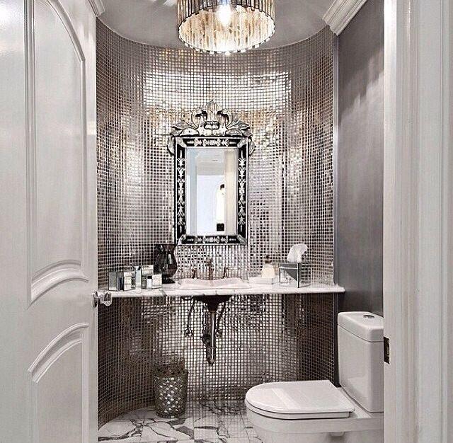 Luxury Powder Rooms Luxury Powder Room Home Sweet Home