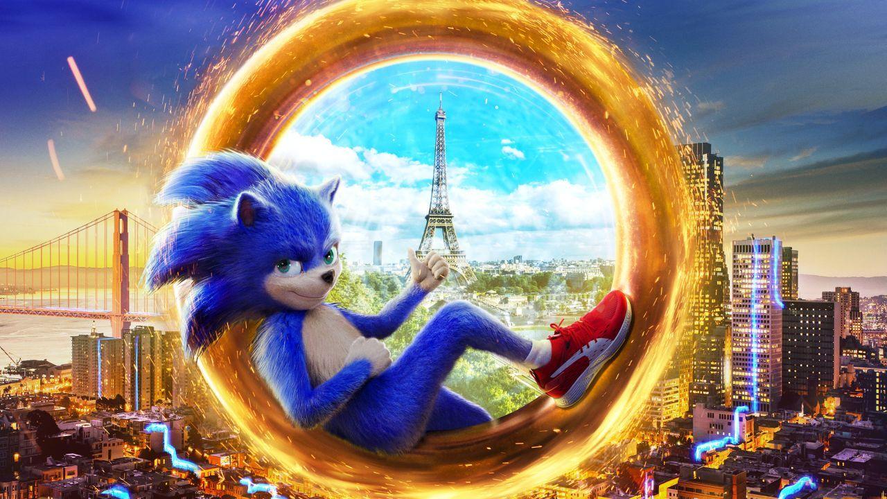 Wallpaper Sonic the Hedgehog, Animation, 2018, 4K, Movies