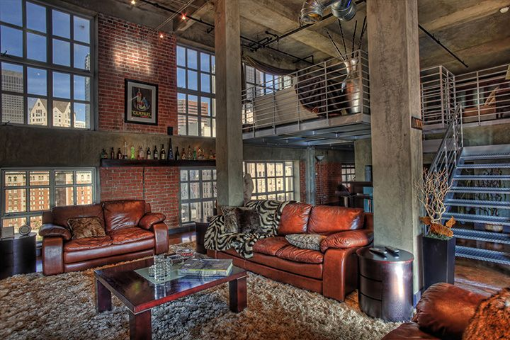 downtown los angeles lofts architectural graphy interior