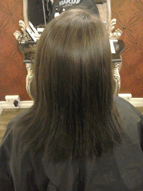 Before Balmain Hair Extensions Serenitys Work Pinterest