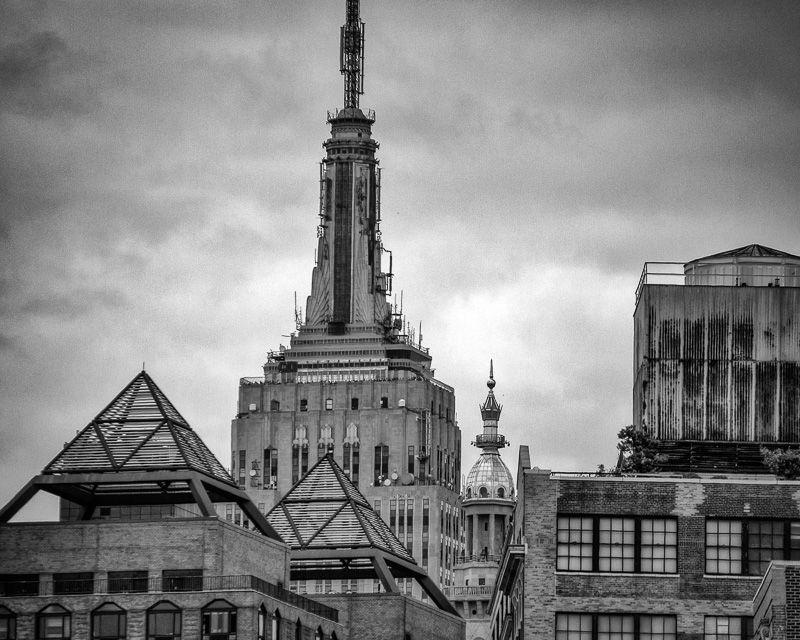 Film Noir style black and white New York City photography | Noir