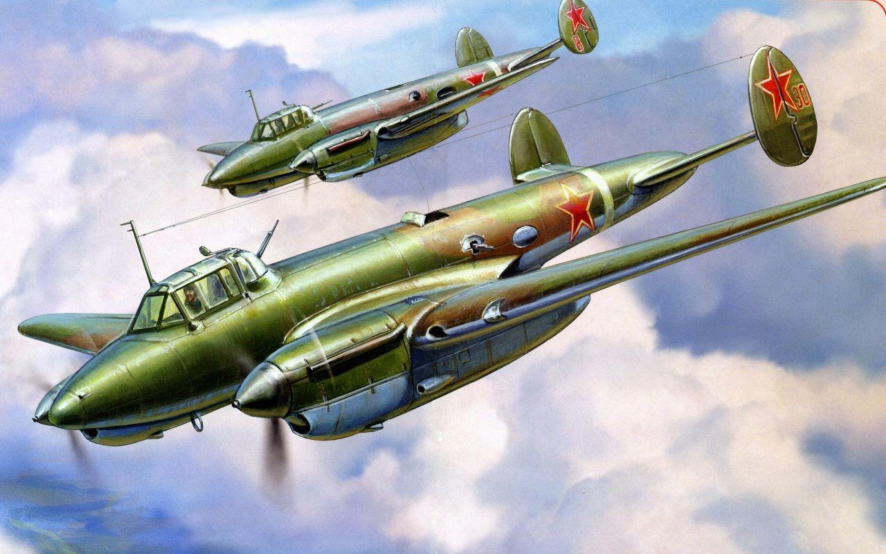 бомбардировщик Пе - 3 | Искусство авиации, Иллюстрации и ...