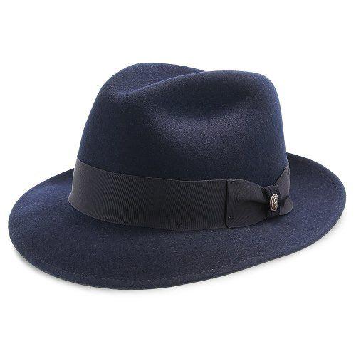 Stetson Frederick Wool Felt Fedora Hat - TWFRDK in 2019  301bcb47fe7a