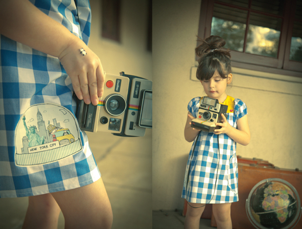 the mini photographer!  love it!  from milk magazine