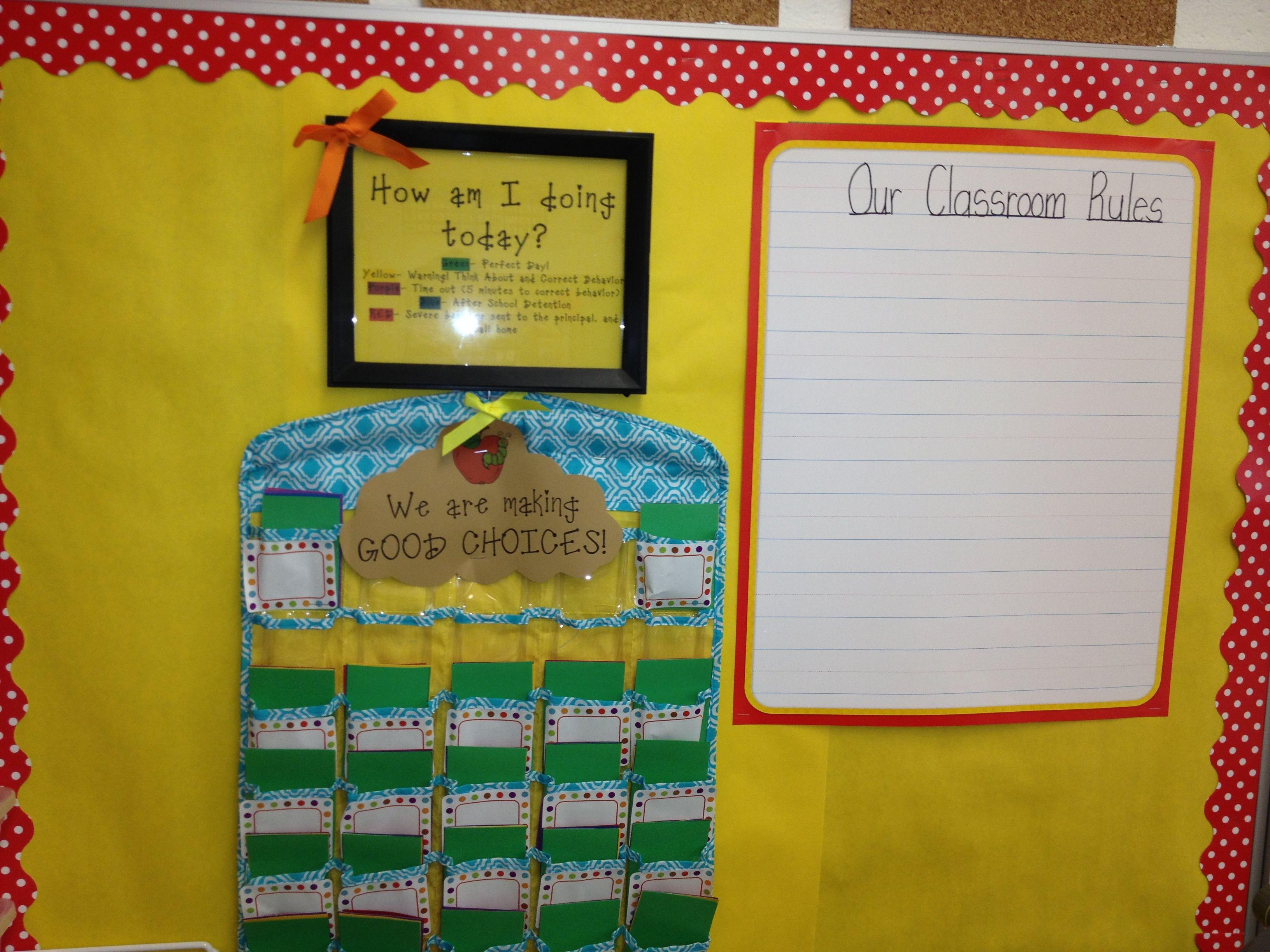 Flip Card Chart Bulletin Board Classroom Rules Classroom Flip Cards