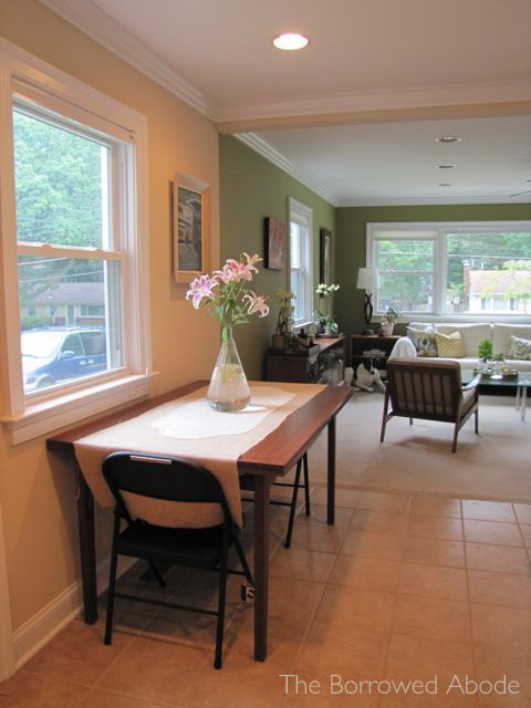 Dining Room Table Against Wall   Google Search