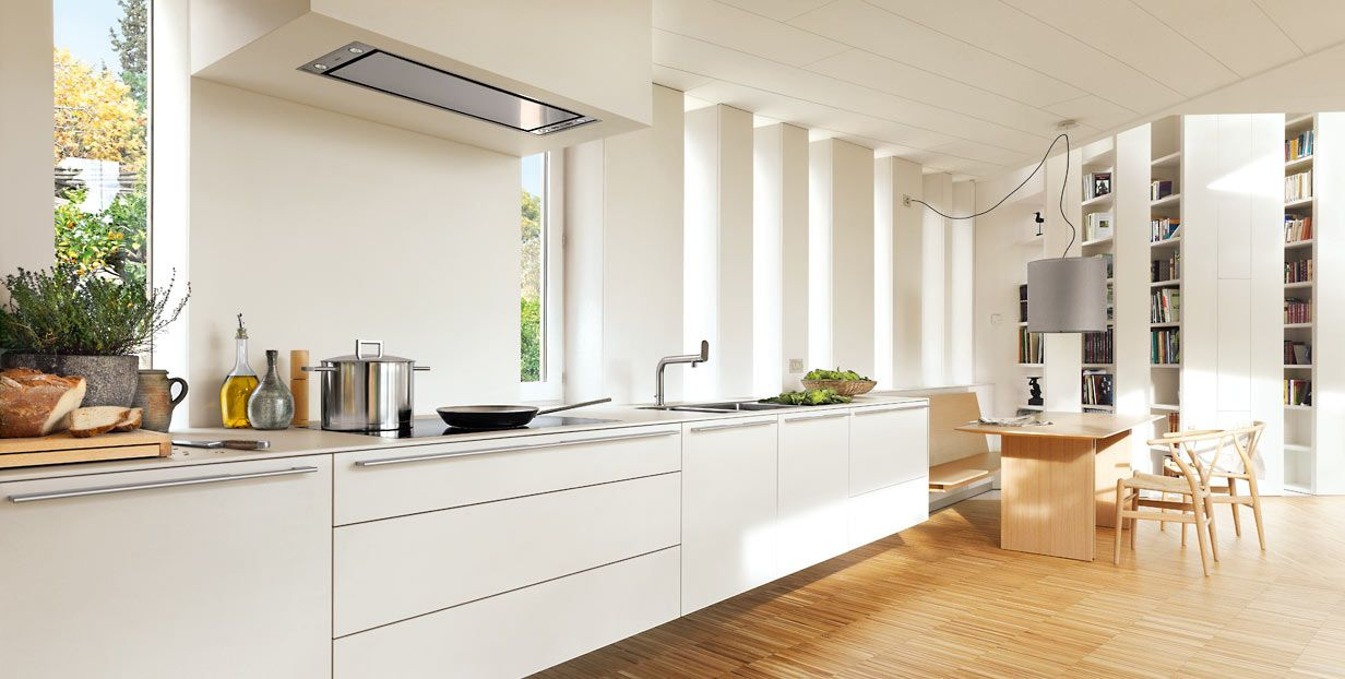 The Bulthaup B3 Kitchen Looks As Though It Emanates From The Wall In This House Near Barcelona Spai Modern Kitchen Design Kitchen Design Trends Kitchen Design