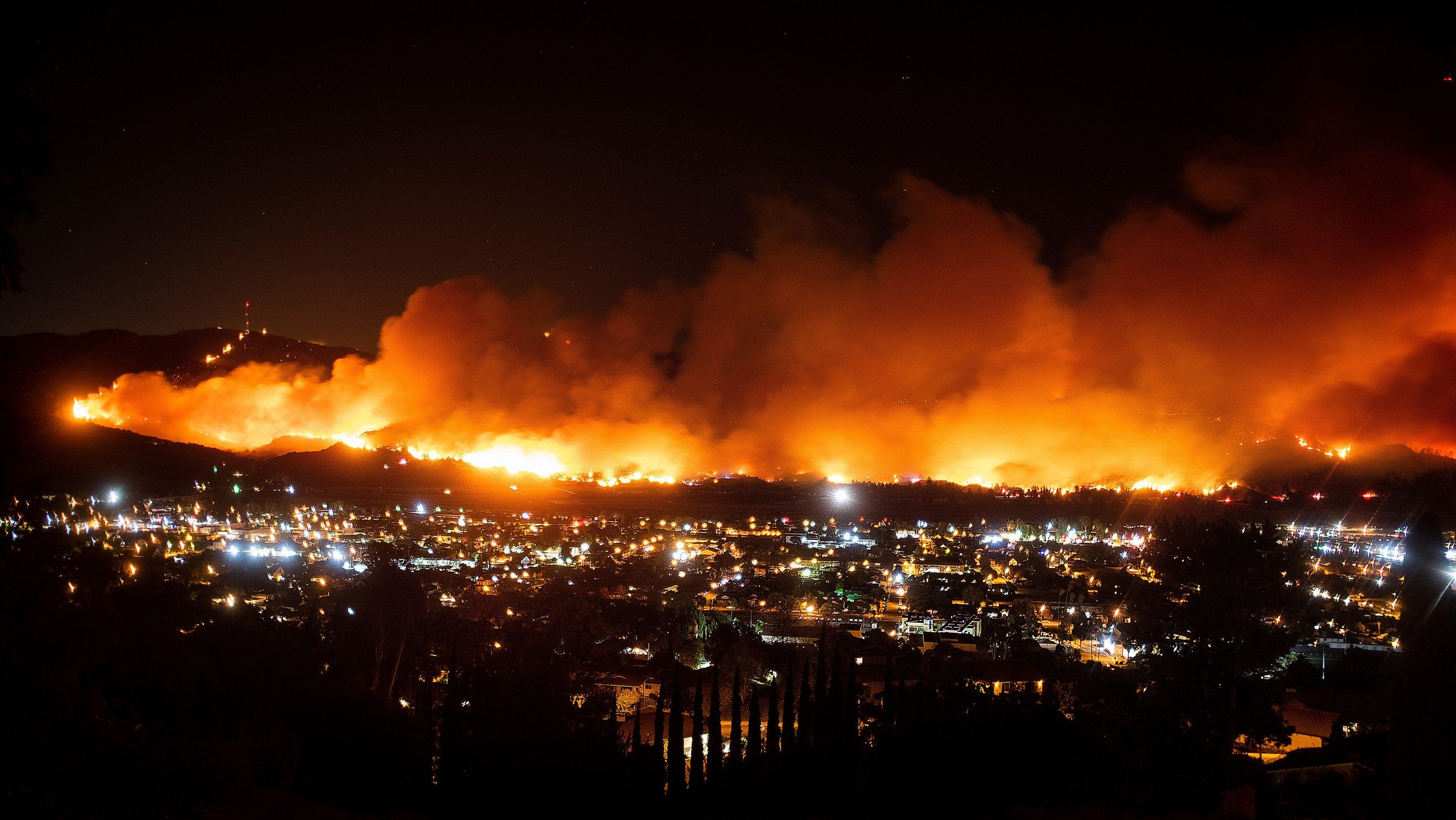 California Is On Track To Miss Its Climate Targets By A Century California Wildfires Climates Fire
